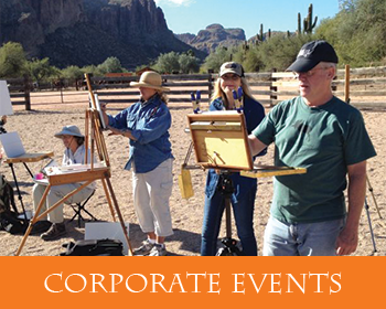 Corporate Events at Saguaro Lake Ranch