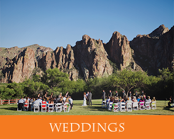 Weddings at Saguaro Lake Ranch