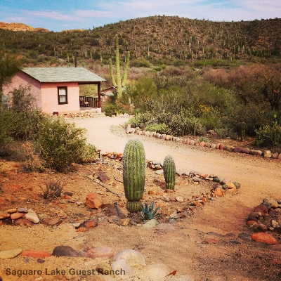 Cabins Amp Rates Saguaro Lake Ranch Western Guest Ranch