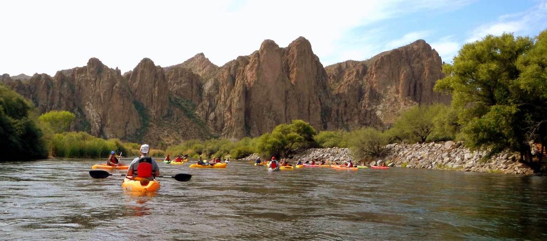 Kayaking The Salt River Saguaro Lake Saguaro Lake Ranch